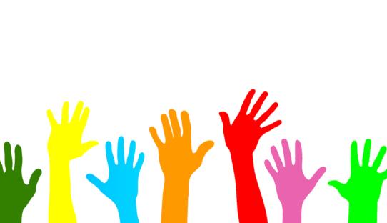 Hände für Website